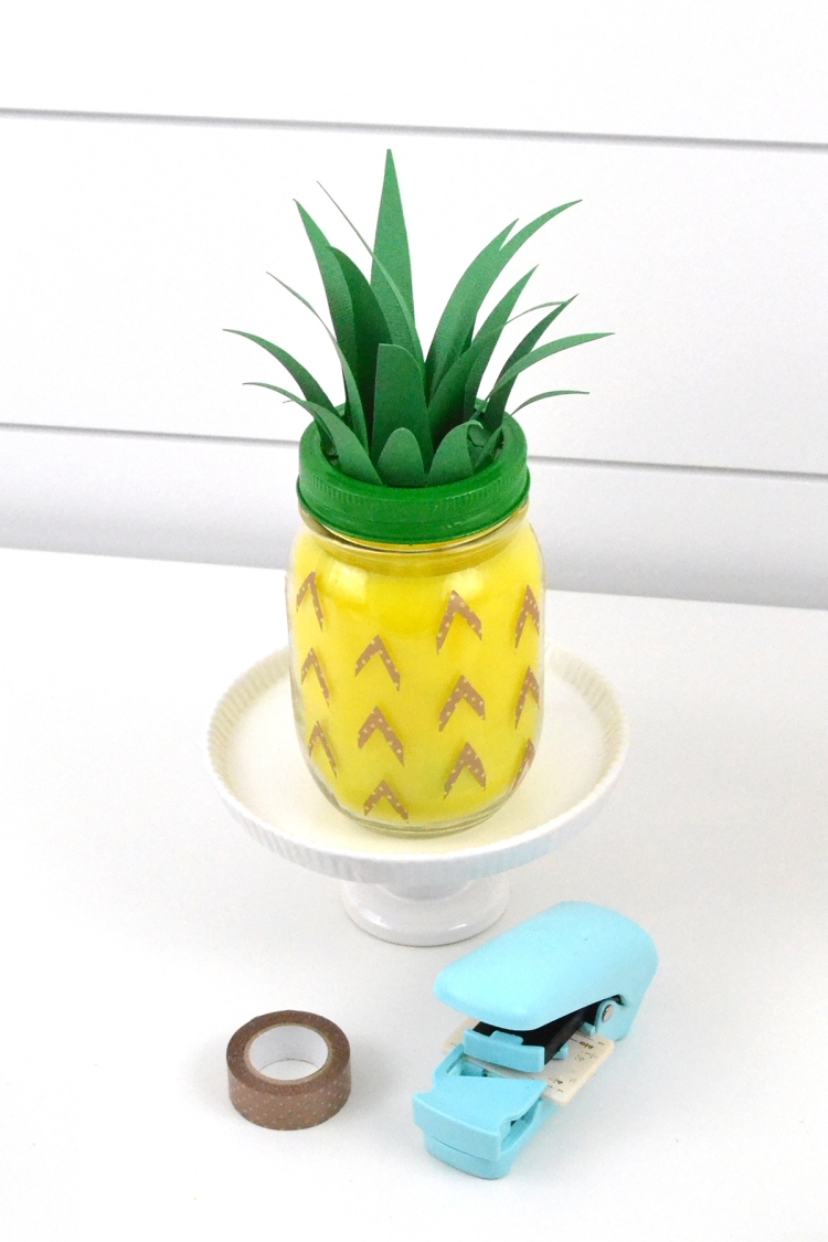 Pineapple Scented Candles by Aly Dosdall for We R Memory Keepers featuring the Wick Candle Maker