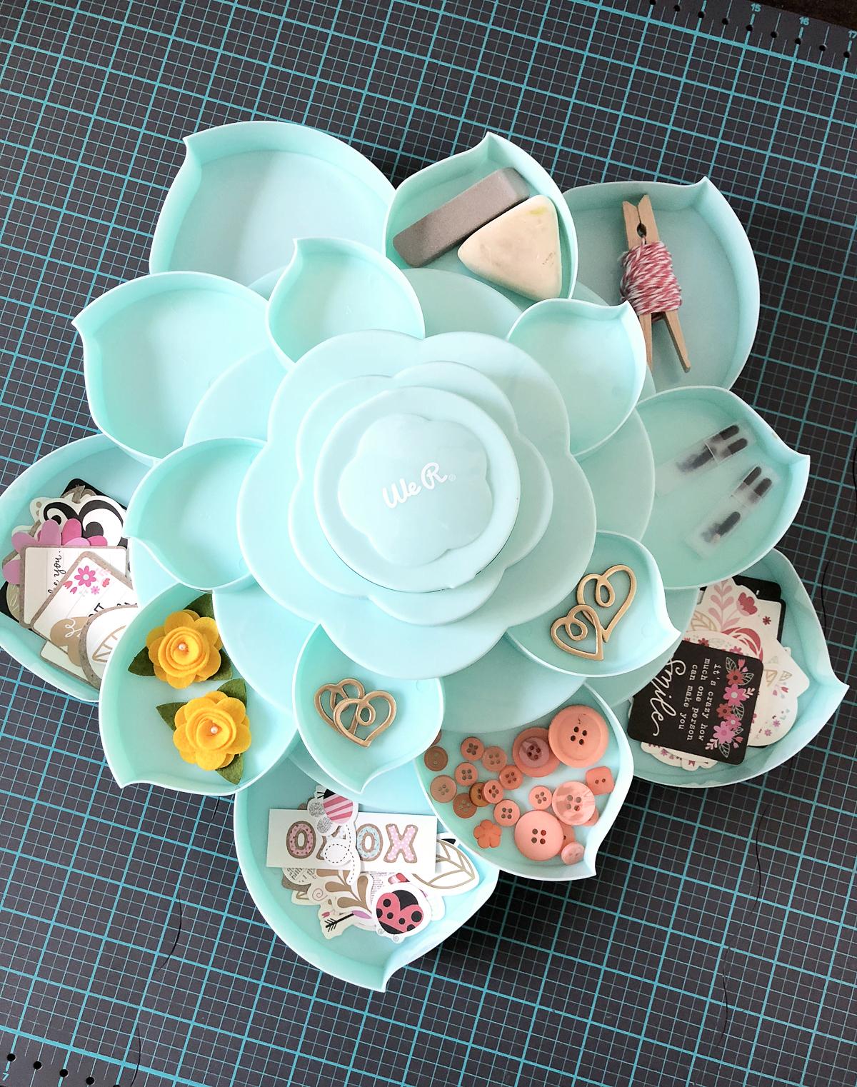 We R Bloom Mini Embellishment Storage에 대한 이미지 검색결과