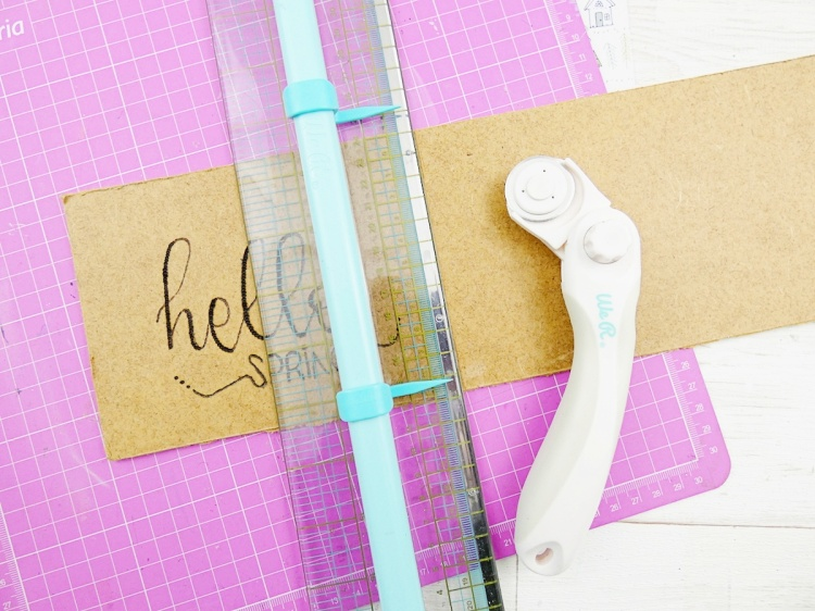 DIY Home Decor with the Crafter's Essentials by We R Memory Keepers