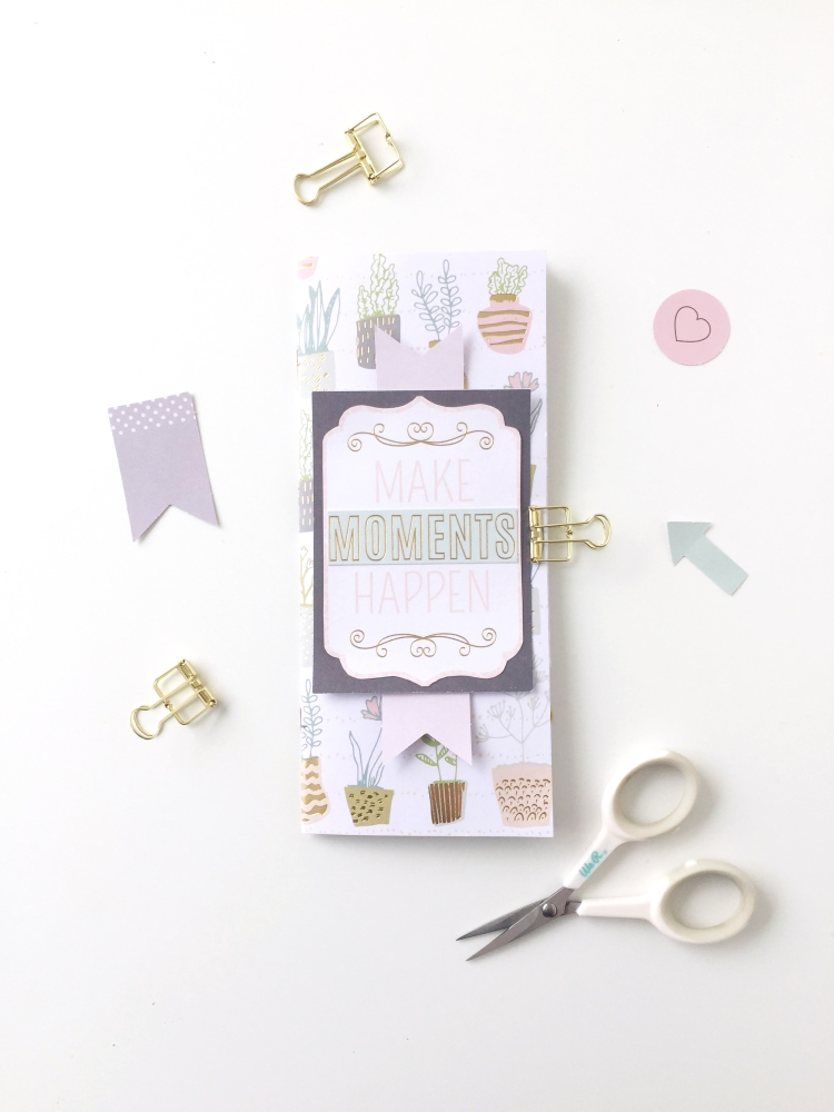 DIY Mothers Day Journal Gift by Aly Dosdall for We R Memory Keepers