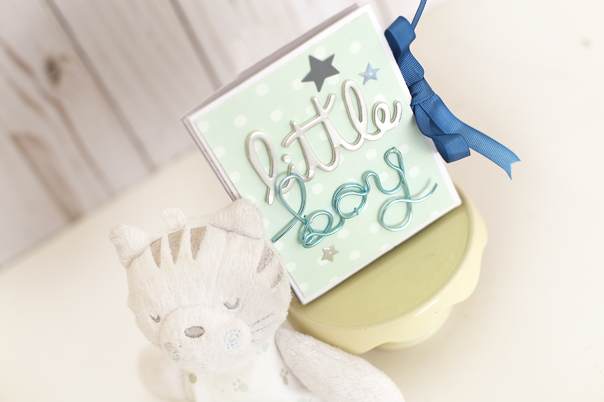 Baby Mini Book With The Happy Jig We R Memory Keepers Blog