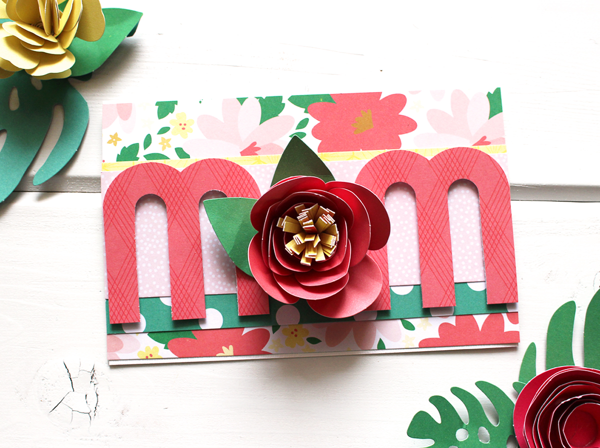 mother s day card we r memory keepers blog