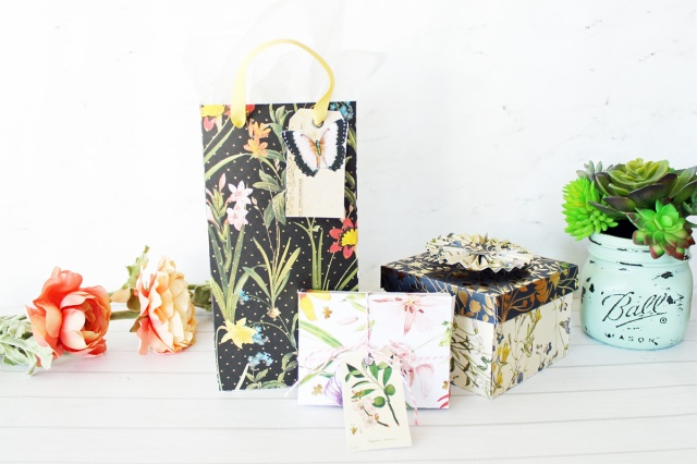 Mother's Day Gift Wrap by Laura Silva for We R Memory Keepers