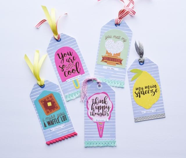 DIY Tag Bookmarks by Becki Adams for We R Memory Keepers