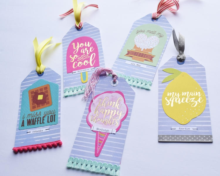 DIY Tag Bookmarks by Becki Adams for We R Memory Keepers