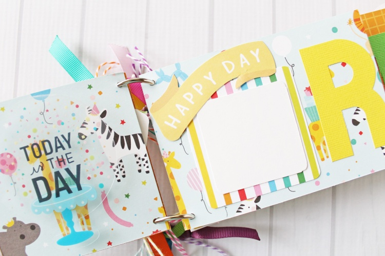 Birthday Mini Album by Laura Silva for We R Memory Keepers