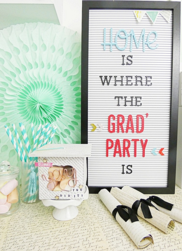 Graduation Party Favor by Soraya Maes for We R Memory Keepers