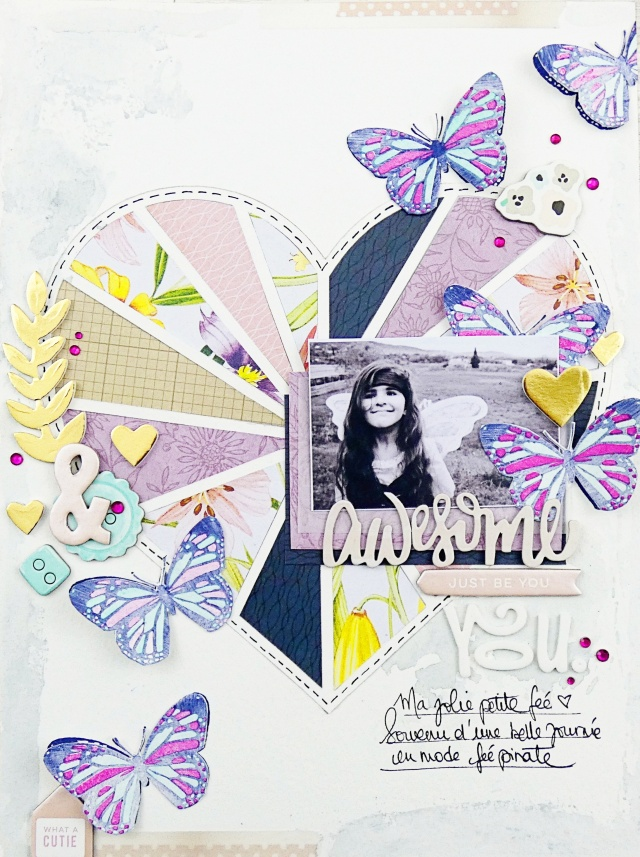 Precision Press Advanced Scrapbook Page by Soraya Maes for We R Memory Keepers