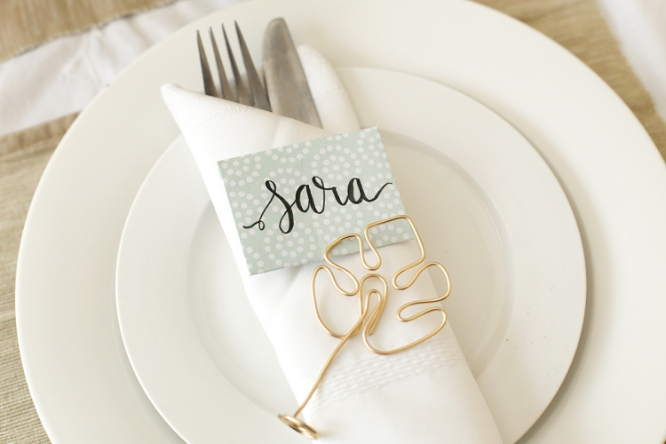 Wedding Table Decor by Eva Pizarro for We R Memory Keepers