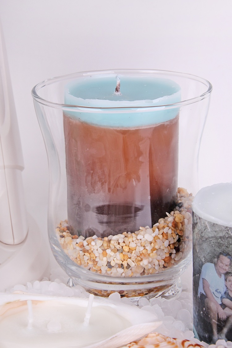 DIY Summer Candles by Chantalle McDaniel for We R Memory Keepers