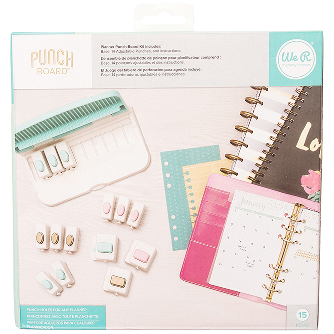 Planner Punch Board Bundle by We R Memory Keepers