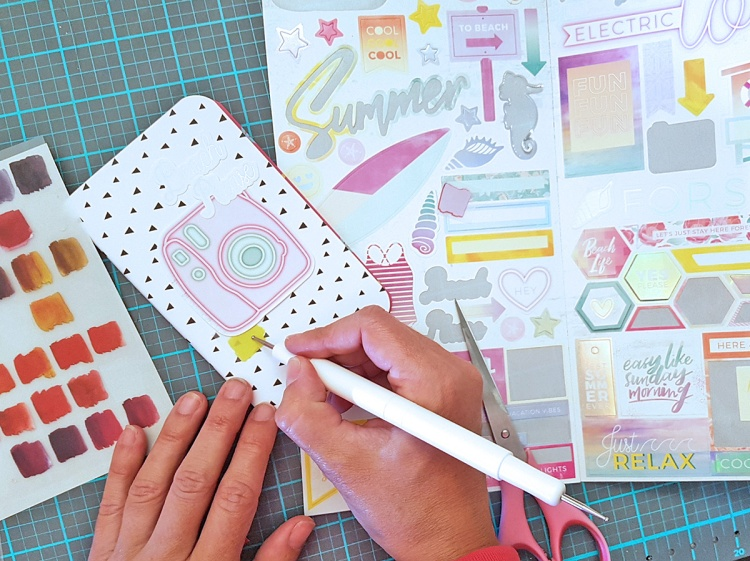 DIY Travel Journal by Chantalle McDaniel for We R Memory Keepers
