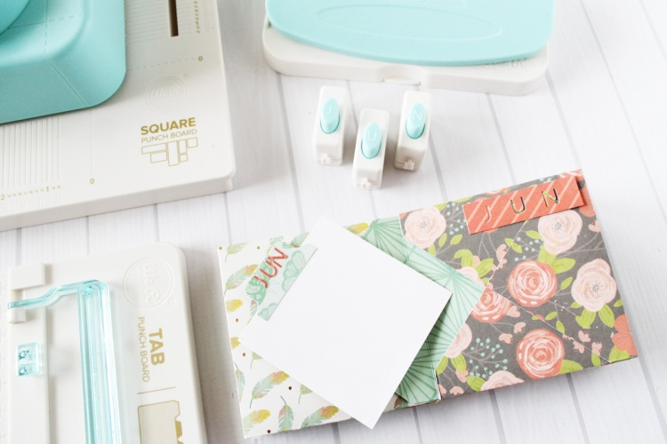 Yearly Mini Envelope Journal by Laura Silva for We R Memory Keepers