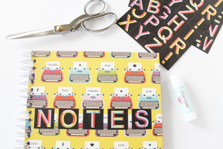 Custom Cinch Notebook by Laura Silva for We R Memory Keepers