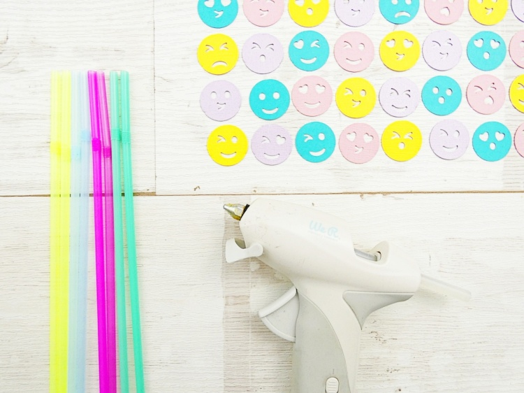 Emoji Party Decor by Soraya Maes for We R Memory Keepers | USB Power Glue Gun