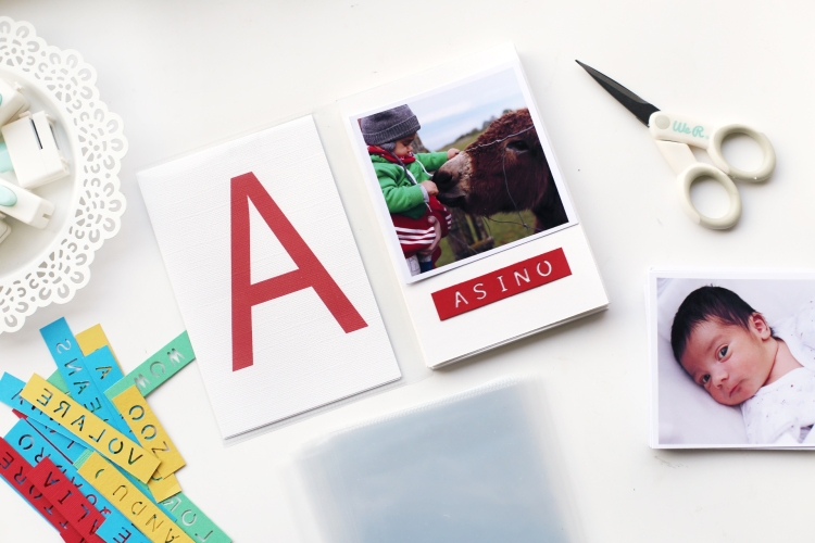 Personalized ABC Book by Eva Pizarro for We R Memory Keepers