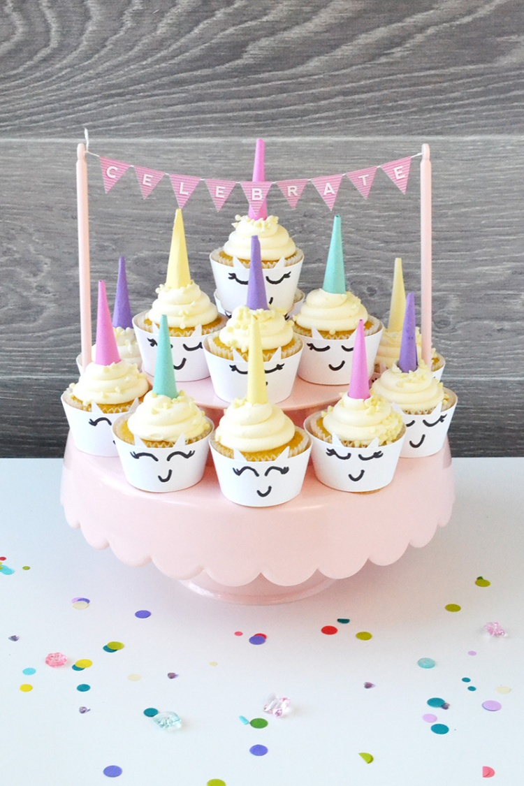 Unicorn Cupcake Wraps by Aly Dosdall featuring the We R Memory Keepers DIY Party Board