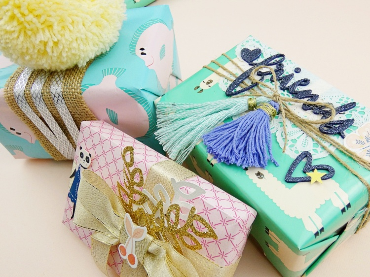 3 Handmade Gift Wrap Ideas by Soraya Maes for We R Memory Keepers