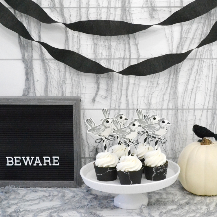 Halloween Cupcake Toppers by Aly Dosdall for We R Memory Keepers