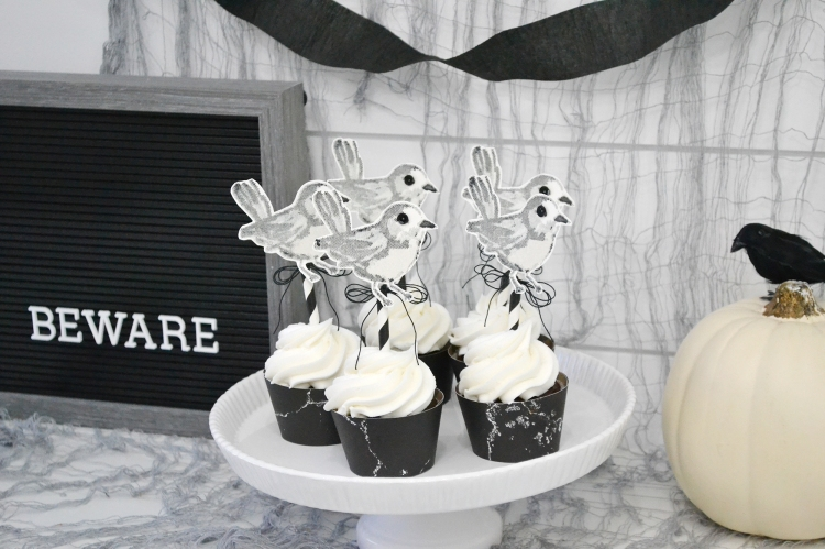 Halloween Cupcake Toppers by Aly Dosdall for We R Memory Keepers 5