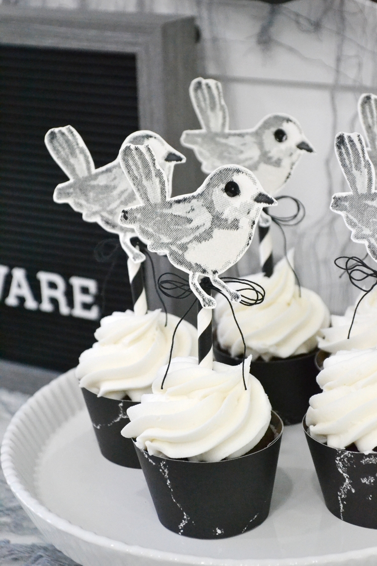 Halloween Cupcake Toppers by Aly Dosdall for We R Memory Keepers 6