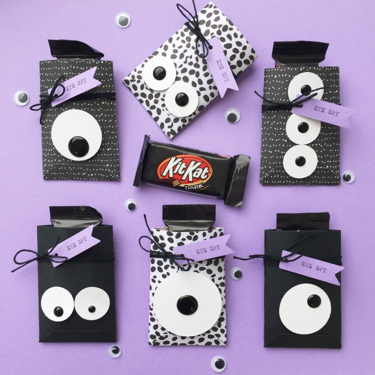 Googly Eye Party Favors with the Circle Spin and Trim by Aly Dosdall for We R Memory Keepers