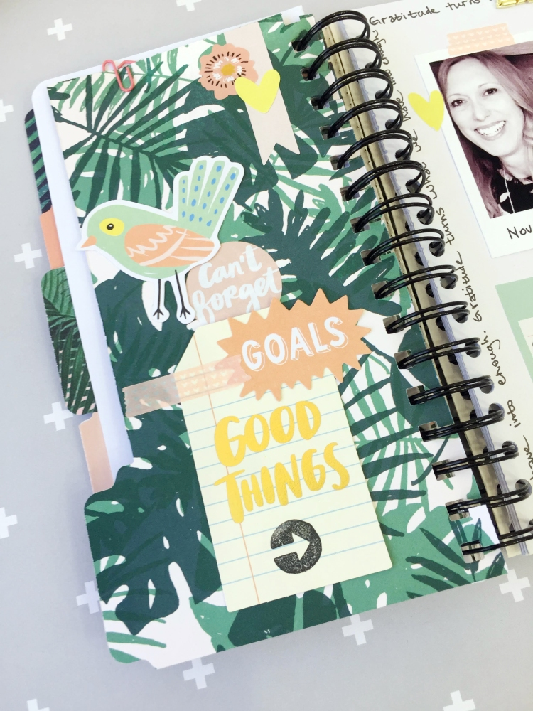 Gratitude Journal by Aly Dosdall for We R Memory Keepers 11
