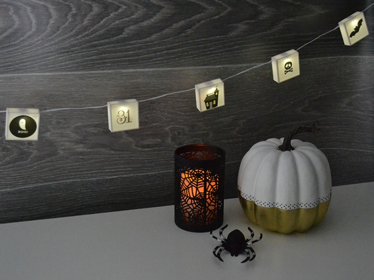 DIY Halloween Photo Lights Strand from We R Memory Keepers