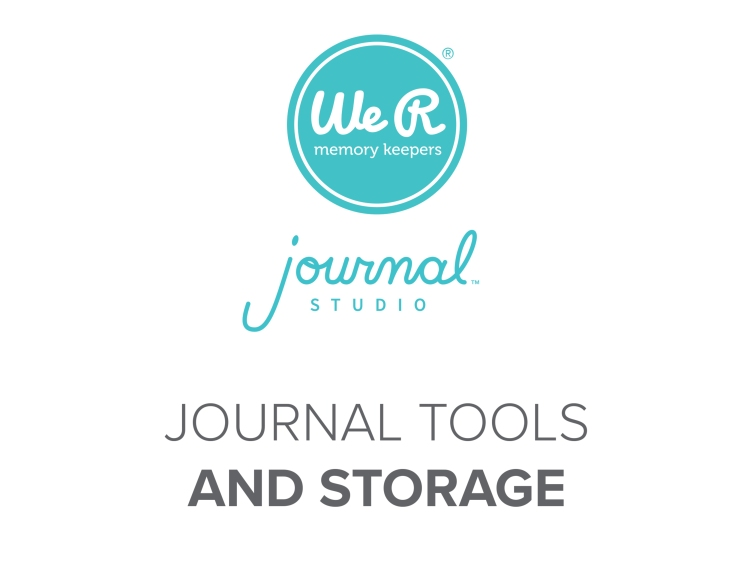 We R Memory Keepers Journal Studio Tools and Storage
