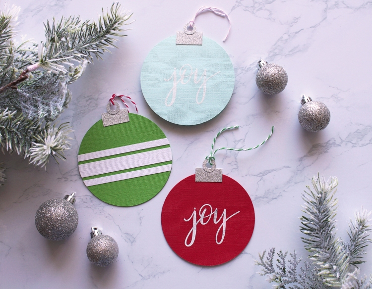 Shaped Christmas Card Set featuring the Circle Spinby Kimberly Crawford for We R Memory Keepers