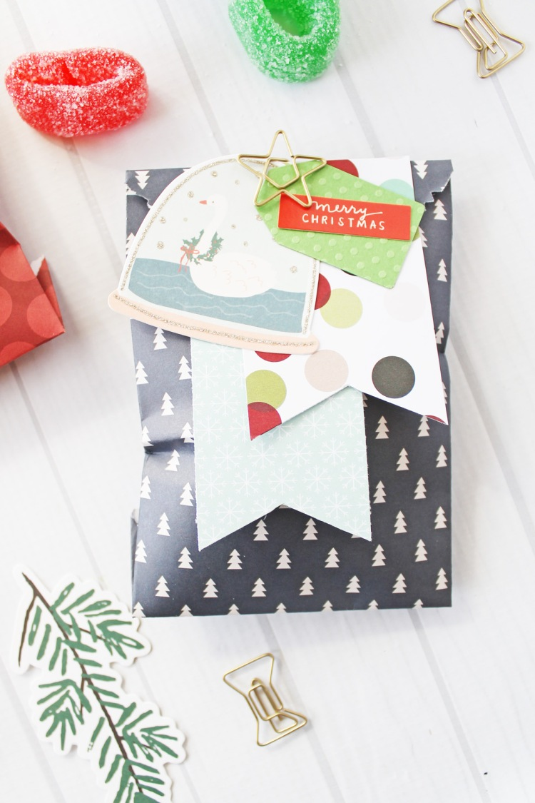 Christmas Goodie Bags by Laura Silva for We R Memory Keepers