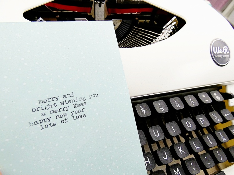 Typecast Typewriter by We R Memory Keepers