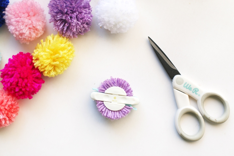 We R Memory Keepers Pom Pom Maker and Precision Scissors