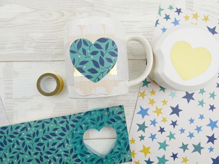 Holiday Gift Mug by Soraya Maes for We R Memory Keepers