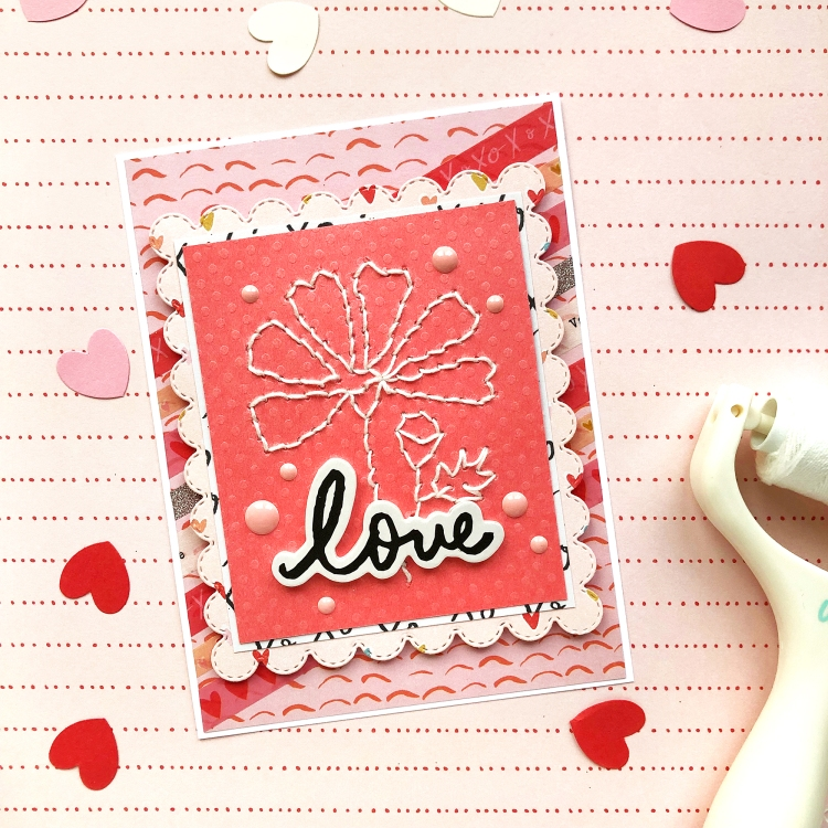 Valentine's Day Cards with the Stitch Happy Pen by Enza Gudor for We R Memory Keepers