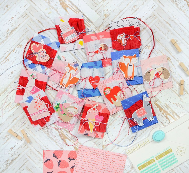 Big Happy Jig Valentine's Day Countdown by Rebecca Luminarias for We R Memory Keepers