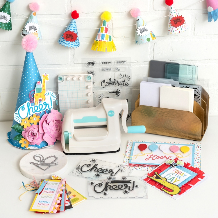 DIY Party Decor with the We Memory Keepers Mini Evolution