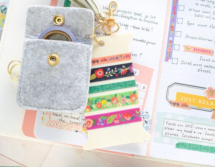 We R Memory Keepers Washi Tape Keychain