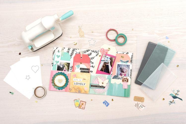 Pocket Mini Album featuring the We Memory Keepers Mini Evolution