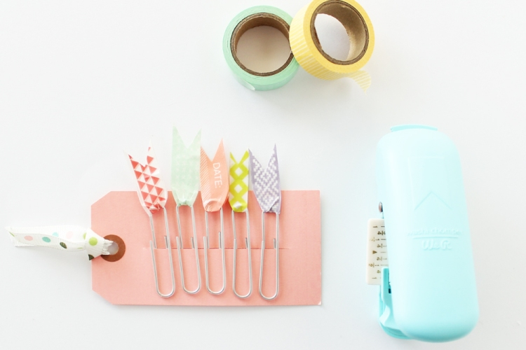 Washi Tape Planner Clips by Laura Silva for We R Memory Keepers