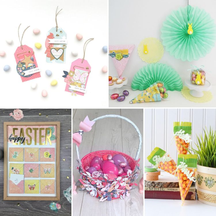 We R Memory Keepers Easter project roundup