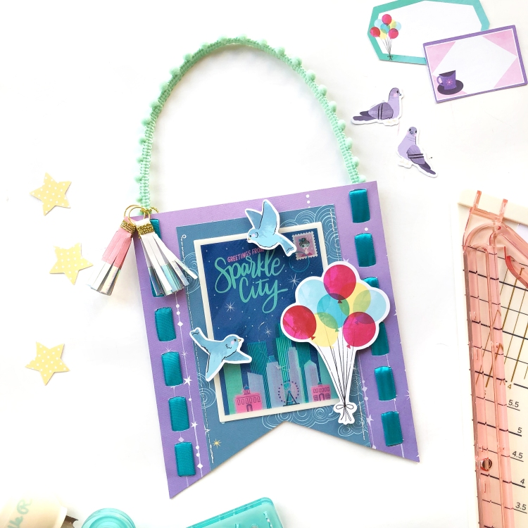 Door Hangers Kids Craft by Enza Gudor for We R Memory Keepers