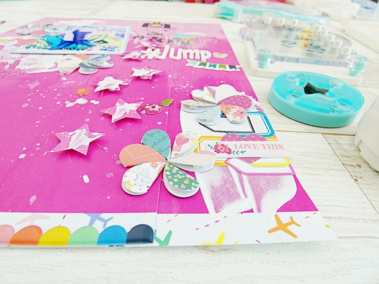 How to embellish a scrapbook page with Soraya Maes for We R Memory Keepers