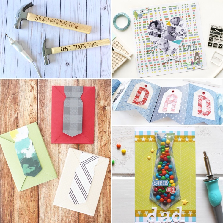 2019 DIY Father's Day Gift Guide by We R Memory Keepers