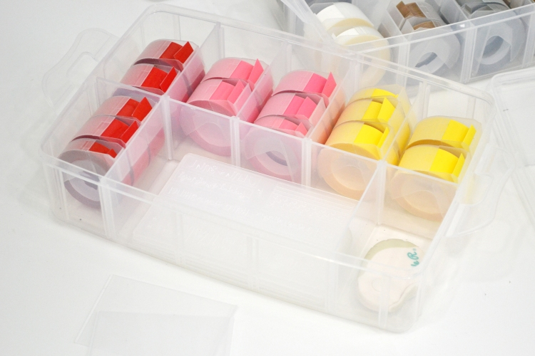 Craft Room Storage Ideas featuring Plastic Storage by Aly Dosdall for We R Memory Keepers