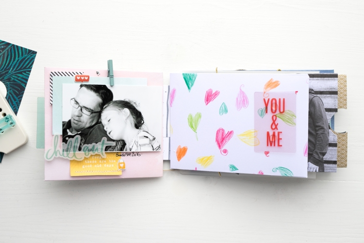 Father´s Day Mini Album by Steffi Ried for We R Memory Keepers