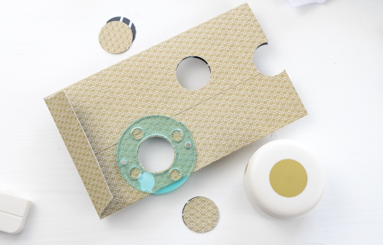 Mini Clear Cut Circle Punch by We R Memory Keeprs
