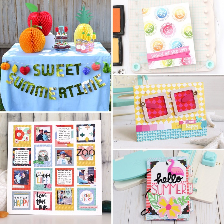 Summer Project Roundup by We R Memory Keepers