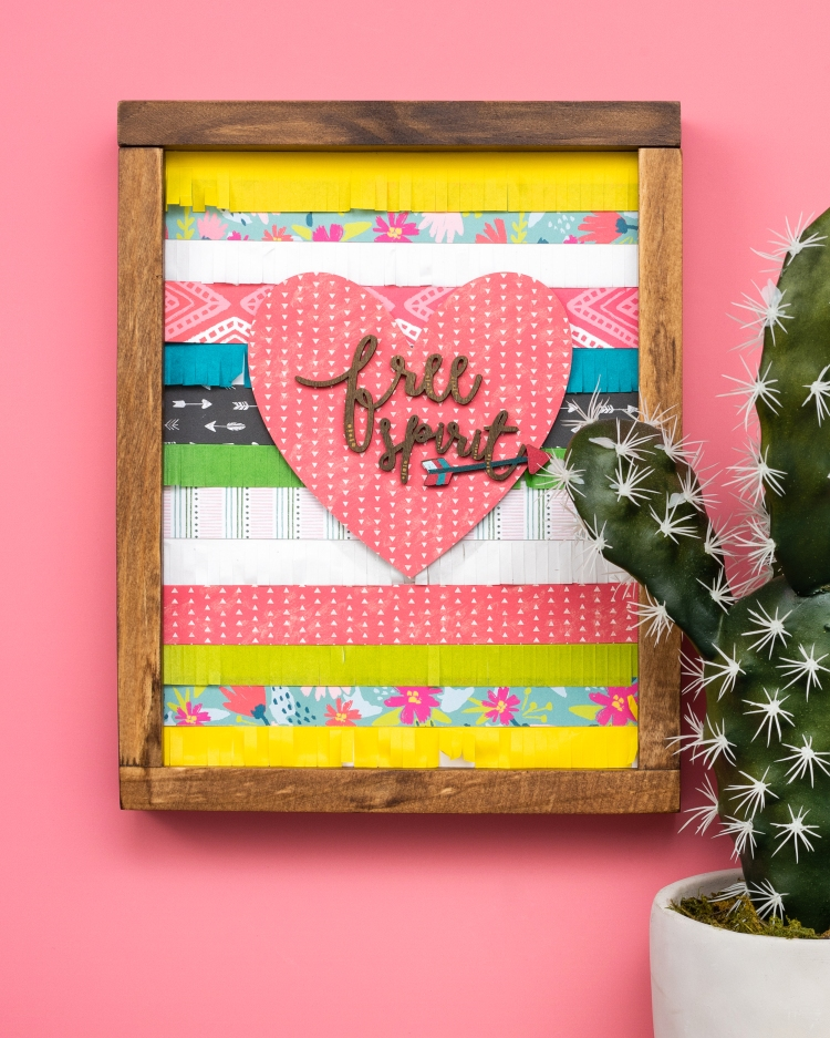 DIY Home Decor featuring the Mini Laser Square by We R Memory Keepers