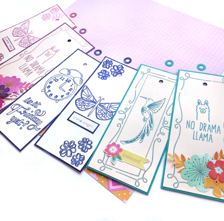 Back to School Bookmarks with the Foil Quill by Enza Gudor for We R Memory Keepers